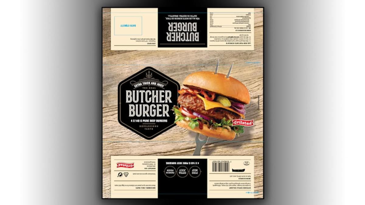 упаковка «Butcher Burger»