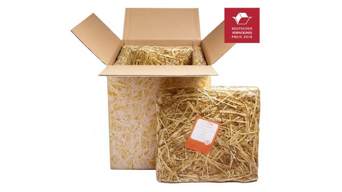 Landbox® – naturally insulated with straw