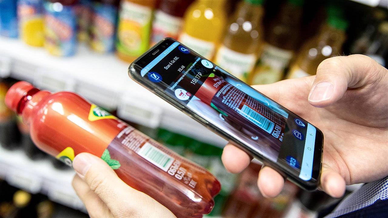 мобильное приложение осоставе продуктов