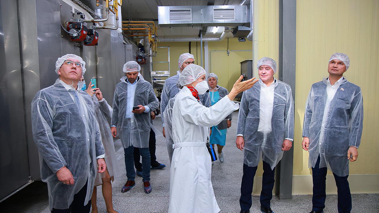 Состоялось торжественное открытие ОАО«Мясокомбинат «Рузский»