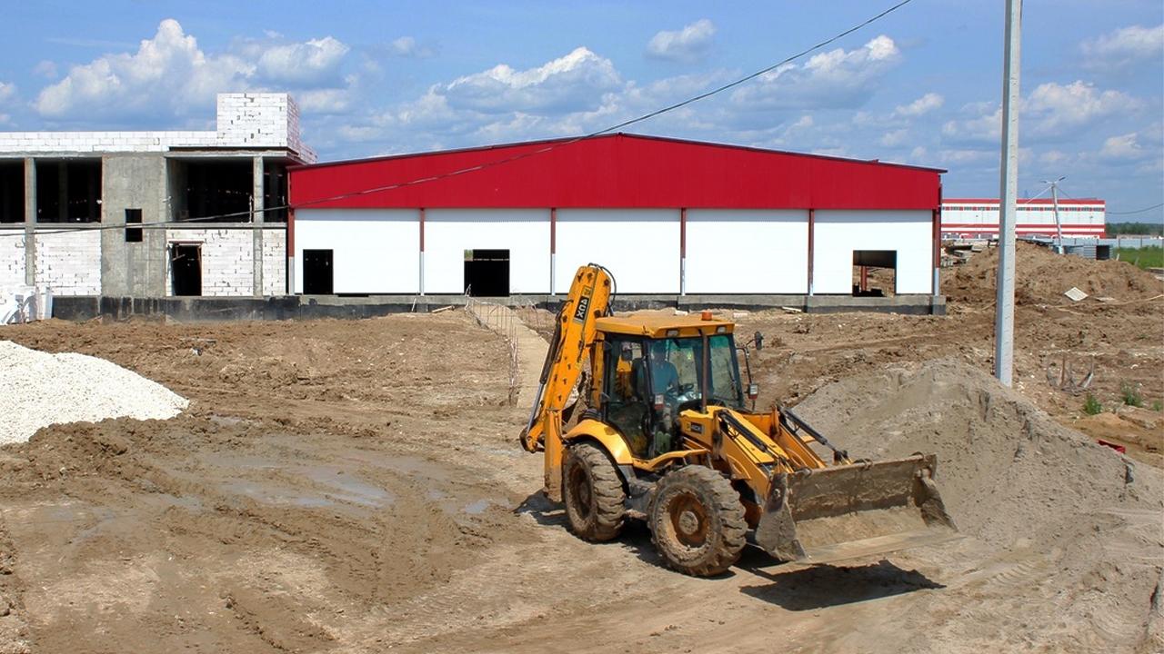 ВКоломне завершают строительство мясоперерабатывающего завода