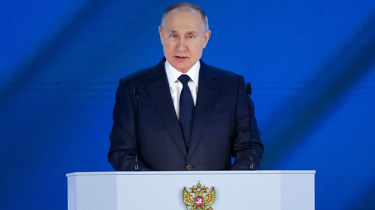 Президент выступил страдиционным обращением кФедеральному Собранию